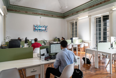 The coworking space in Cowork Funchal